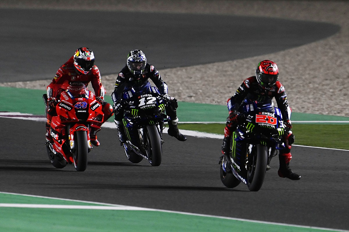 Miller's crash brought on by his rear tire - Motor Informed