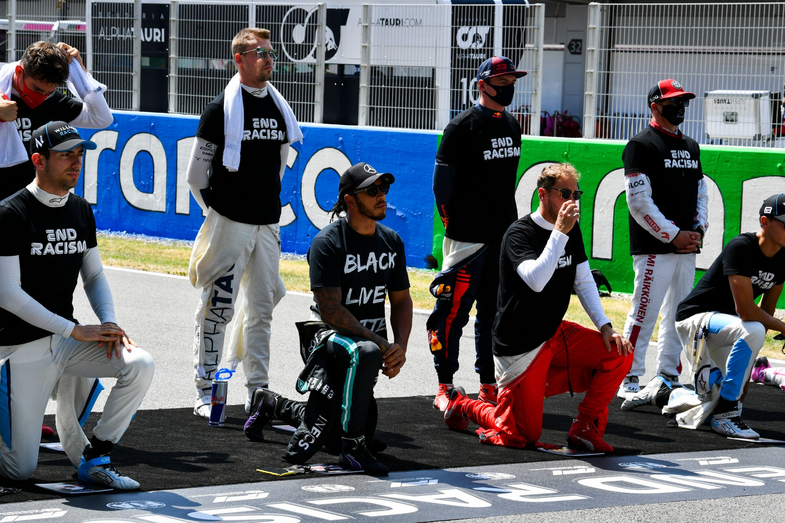Formula 1 2020 pre-race grid