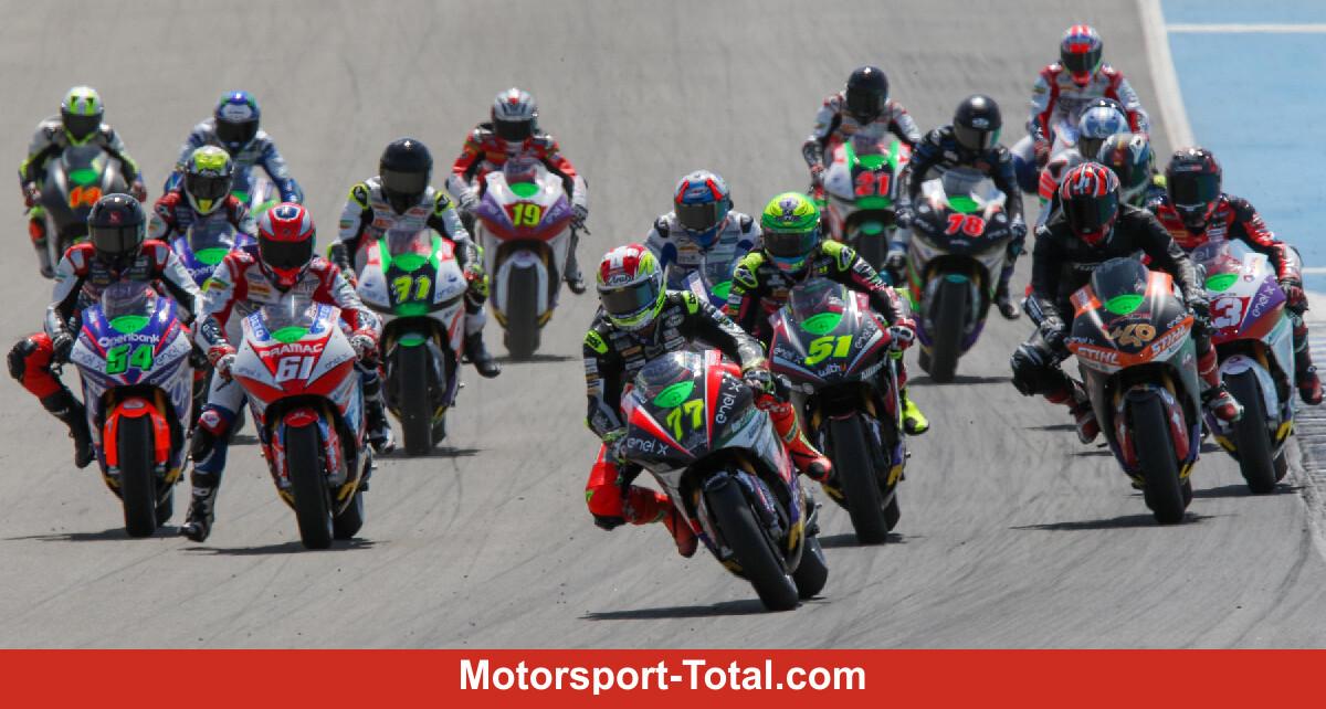 Dominique Aegerter wins MotoE racing simulation in Jerez - Motor Informed