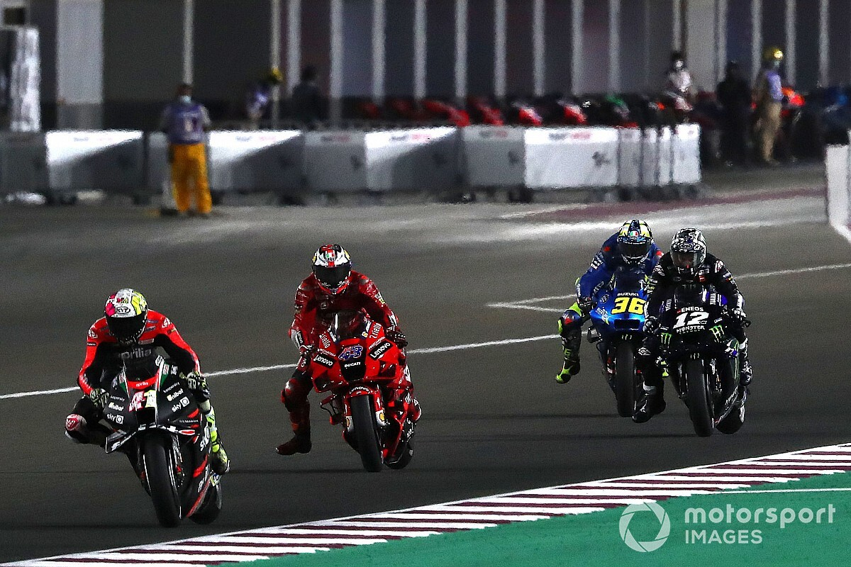 Aleix Espargaró pissed off at being a straightforward goal in a straight line - Motor Informed