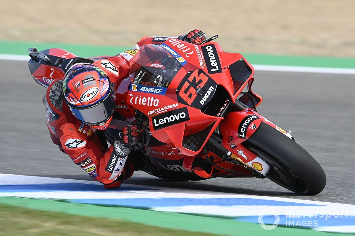 Bagnaia in full energy; Miller, Mir and Marquez out of prime 10 - Motor Informed