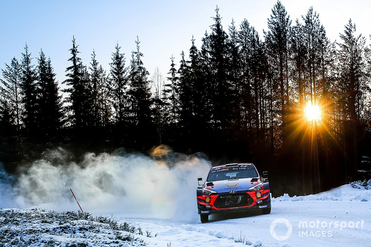 Rally Sweden modifications base for extra snow and ice - Motor Informed