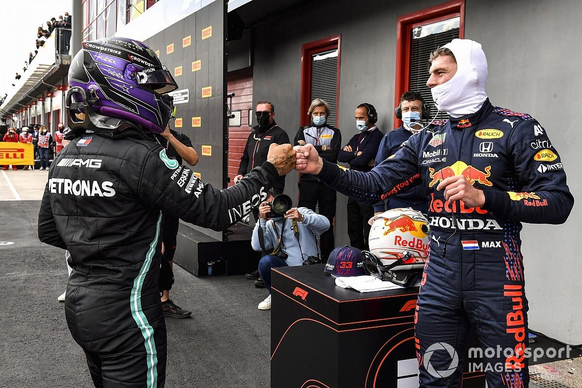 "The shoulder Verstappen / Hamilton, signal of an ""intense"" combat - Motor Informed"