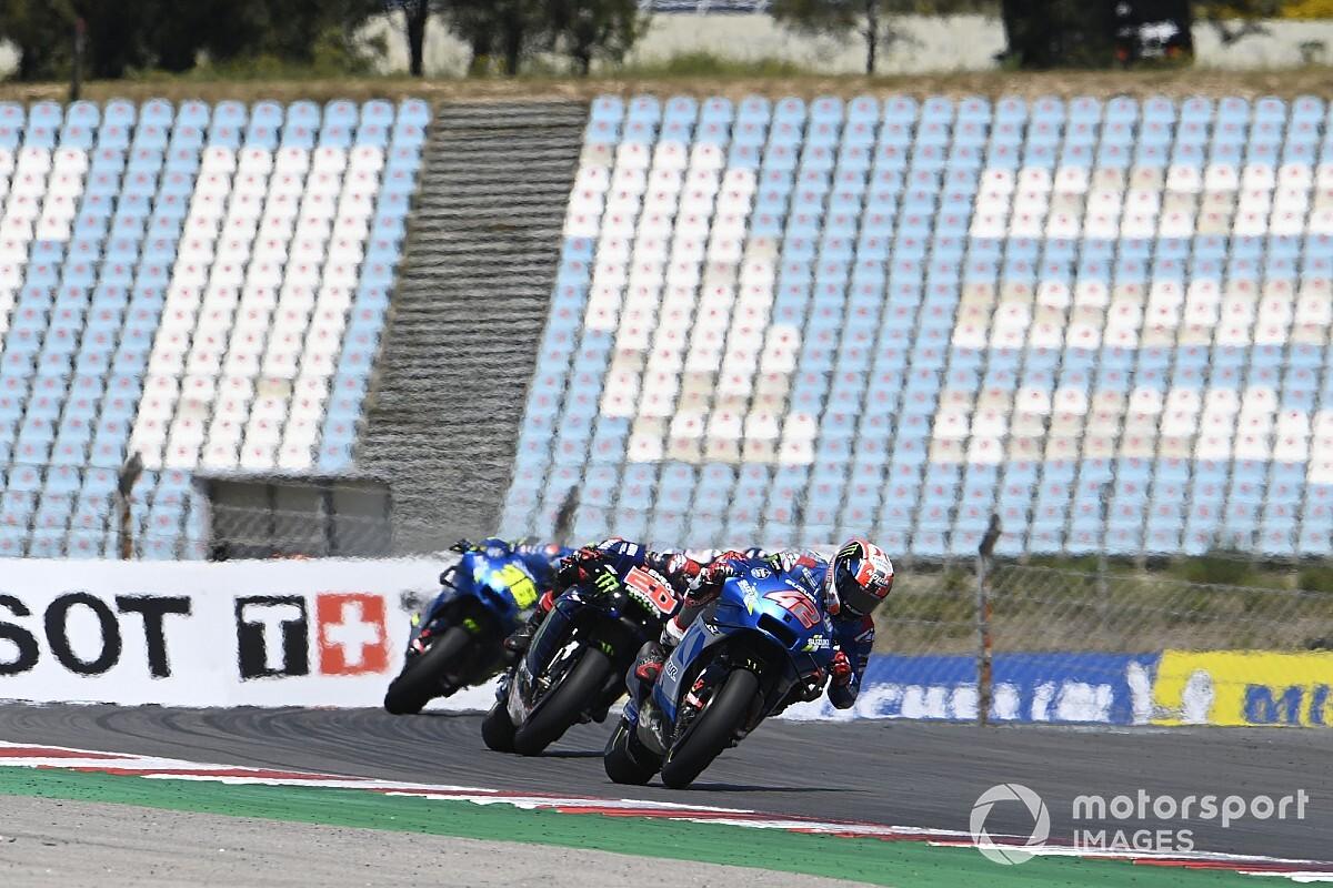 "Rins ""not an fool"" in Portugal MotoGP lead crash - Motor Informed"