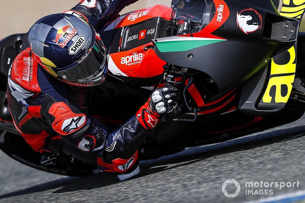 "Dovizioso's Aprilia MotoGP bike suggestions ""related"" to Espargaro - Motor Informed"