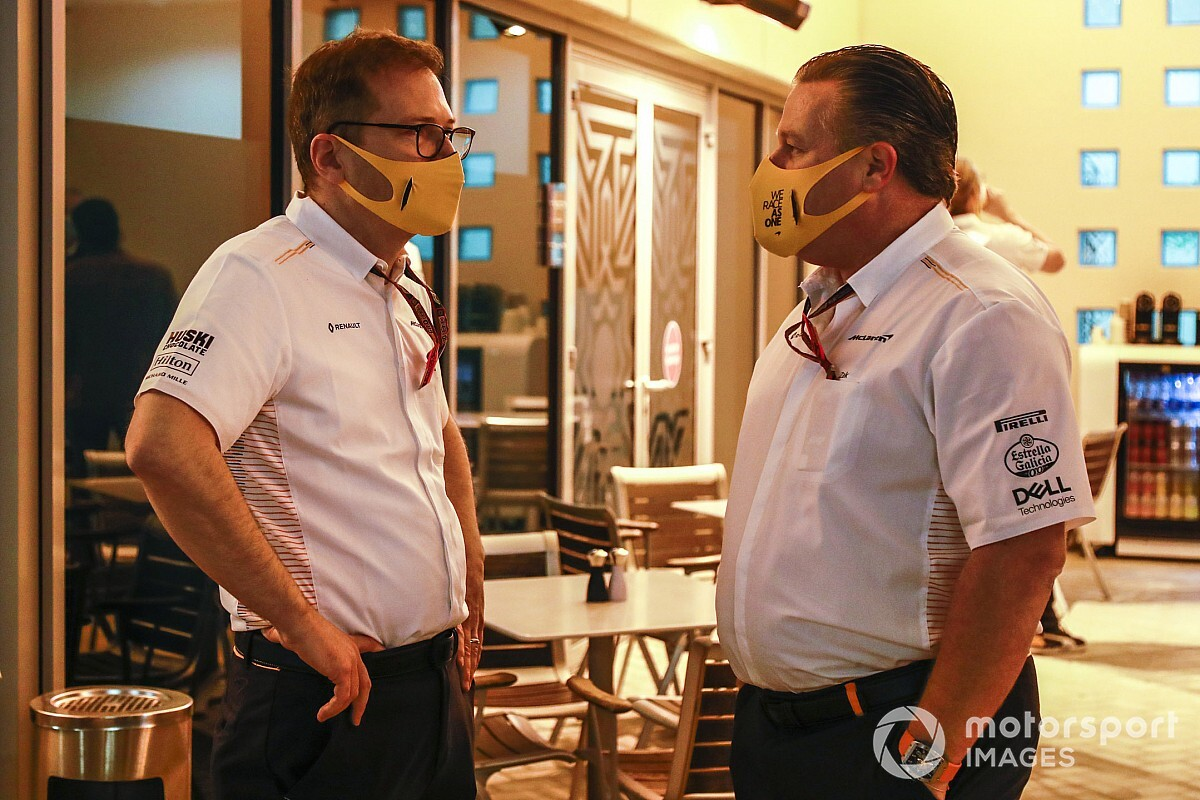 Seidl is greatest workforce principal in F1, says Brown - Motor Informed