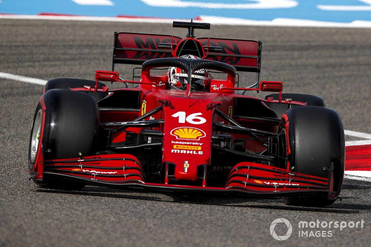 Leclerc: 2021 vehicles tougher to handle on nook entry - Motor Informed