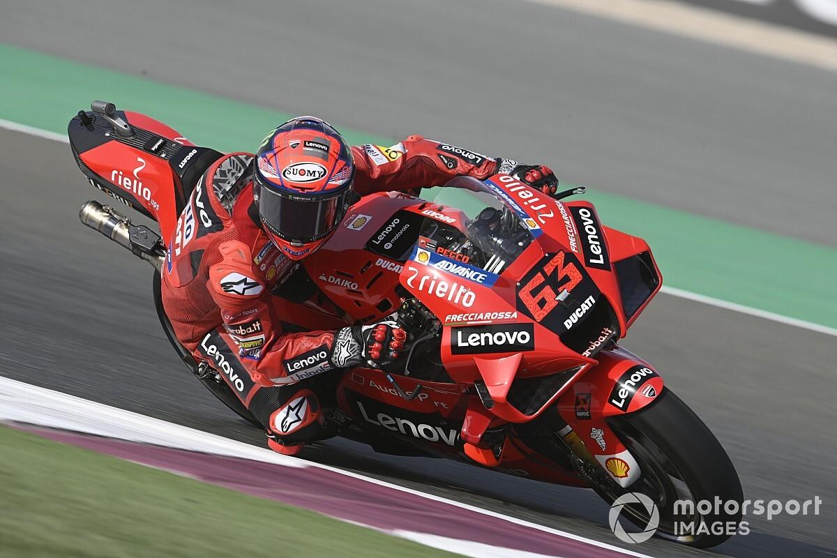 "Bagnaia slams ""unacceptable"" Doha MotoGP race mistake - Motor Informed"