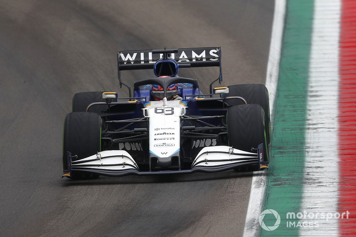 Russell apologises to Bottas after Imola F1 shunt response - Motor Informed