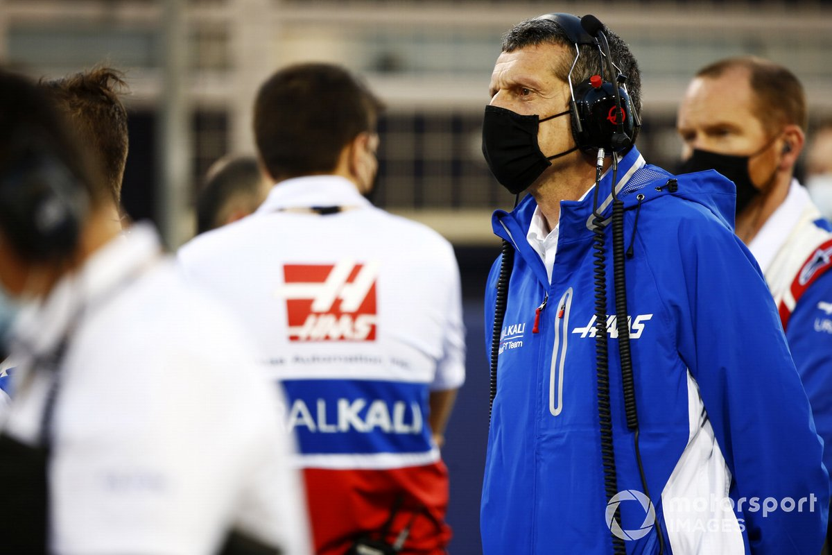 Gunther Steiner, Team Principal, Haas F1