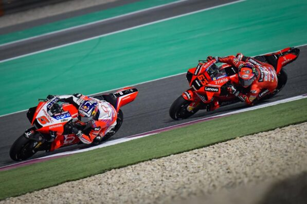 """At Ducati, """"no downside"""" seeing Pramac compete with the official workforce - GP Inside - Motor Informed"""