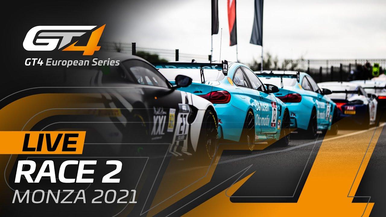 LIVE FROM MONZA - RACE 2 - GT4 EUROPEAN SERIES 2021 - Motor Informed