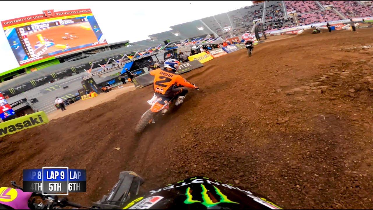 GoPro: Malcolm Stewart Gets First 450 Podium - Salt Lake City 1 - 2021 Monster Energy Supercross - Motor Informed
