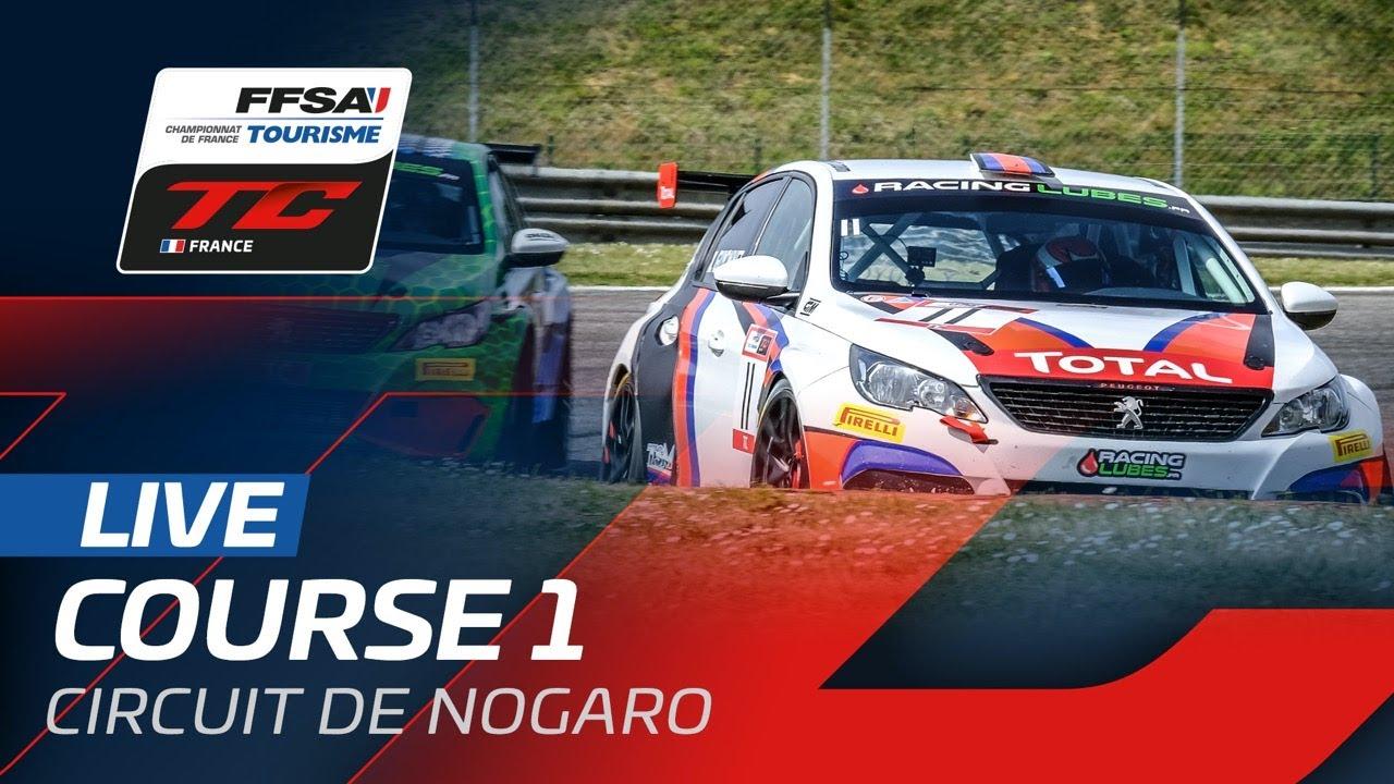 LIVE | Championnat de France Tourisme - Nogaro 2021 - Course 1 - Motor Informed