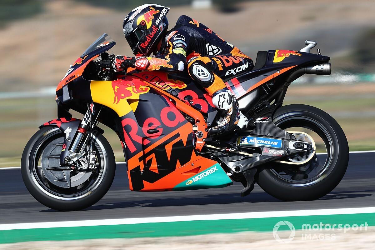 """KTM sad with Portugal MotoGP tyre """"handicap"""" - Motor Informed"""