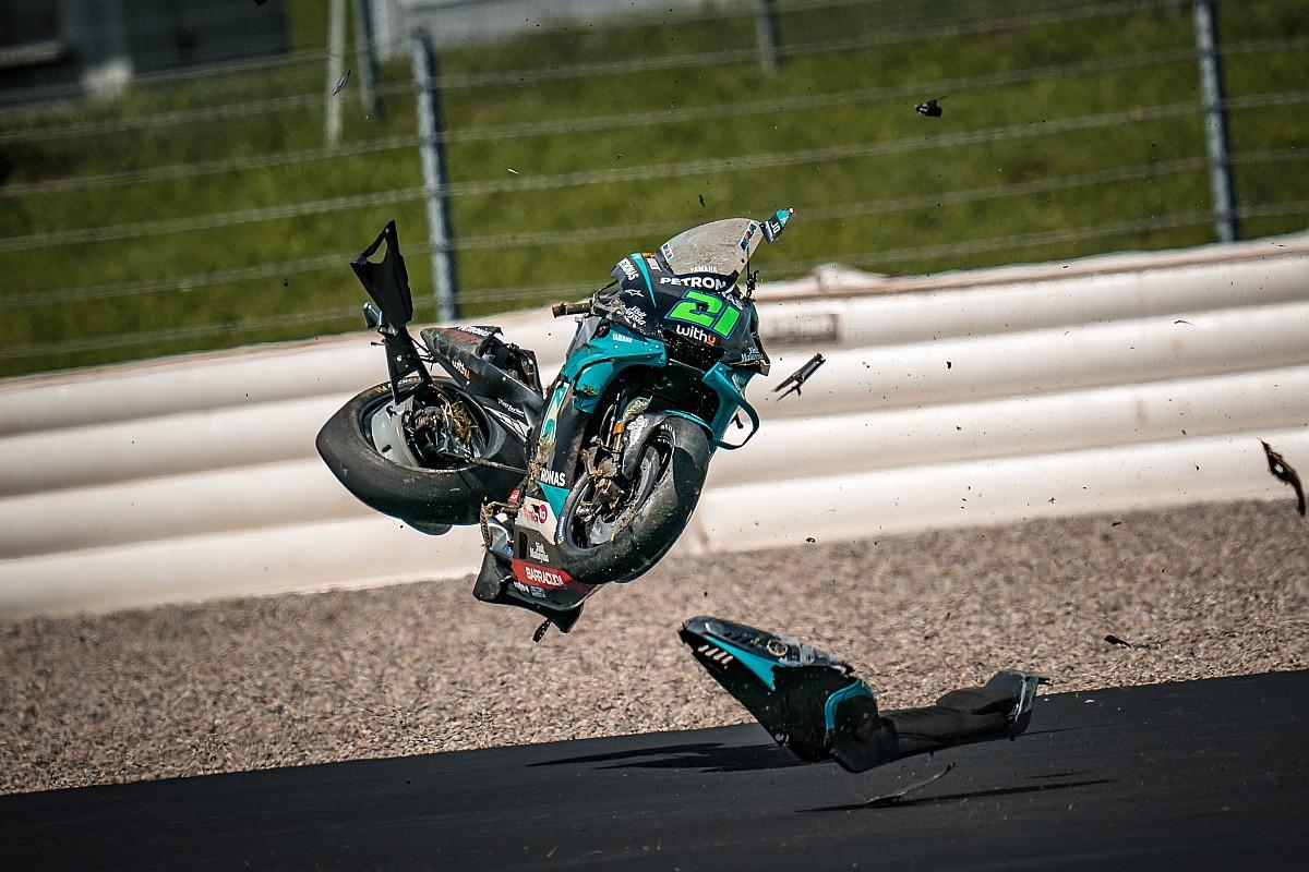 No change to Spielberg Flip 2 after horror MotoGP smash - Motor Informed