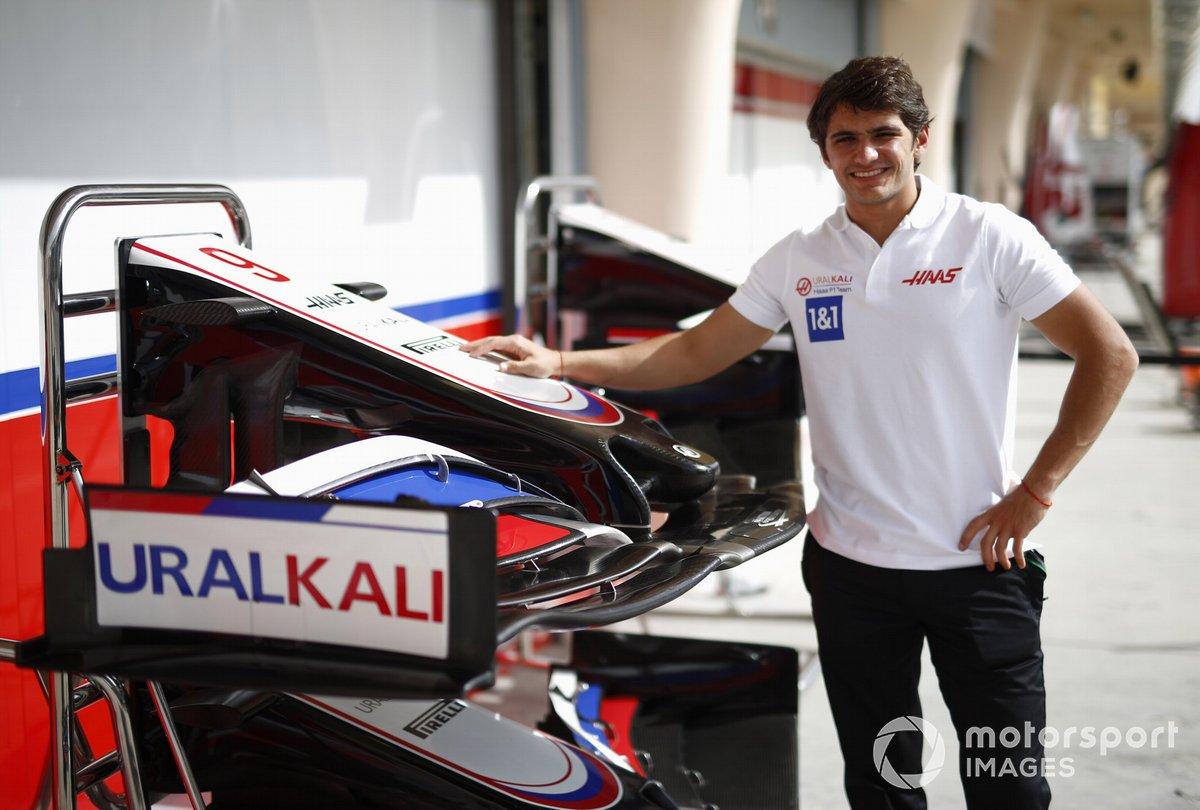 Pietro Fittipaldi, reserve driver, Haas F1