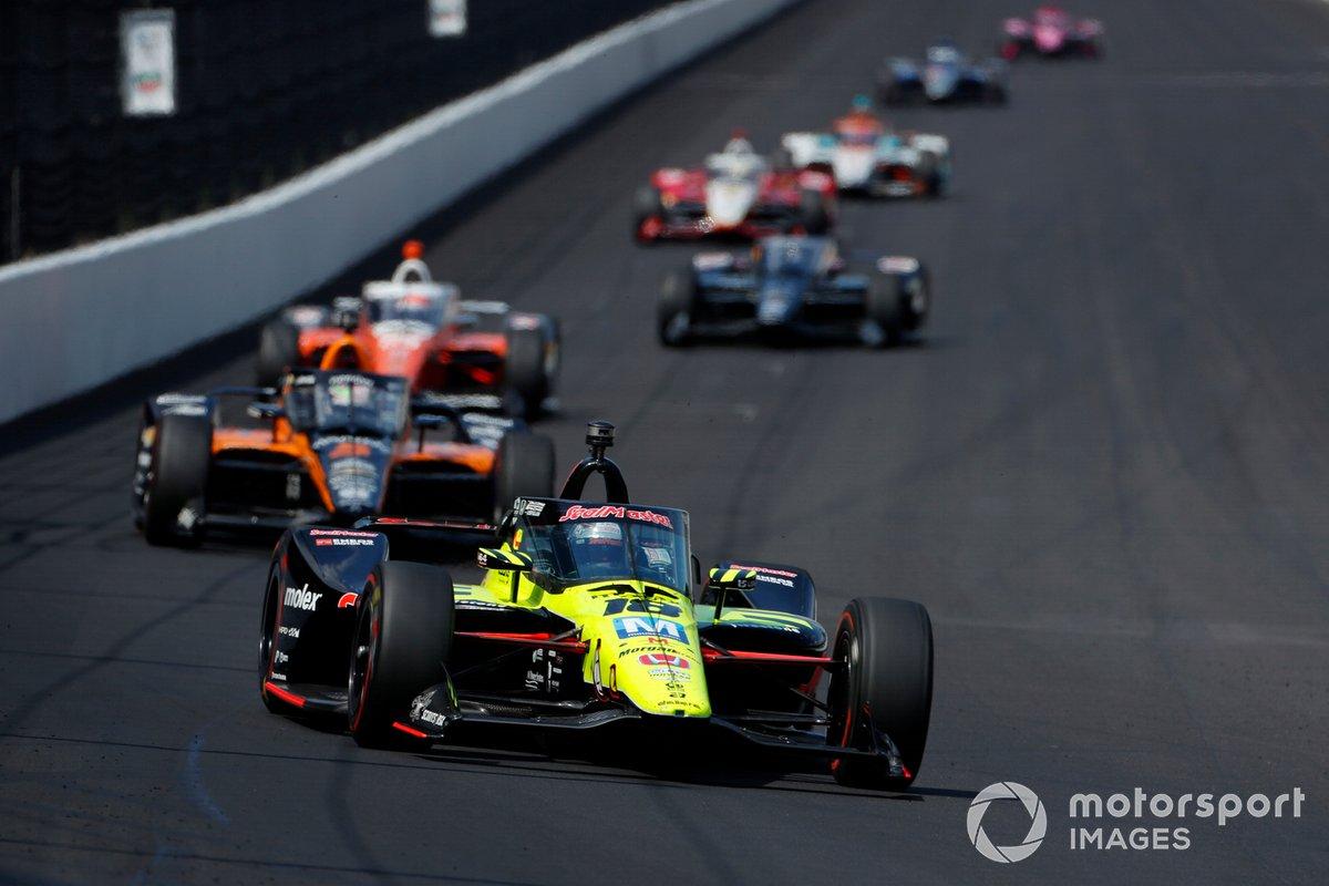 Santino Ferrucci 2020 Indianapolis 500