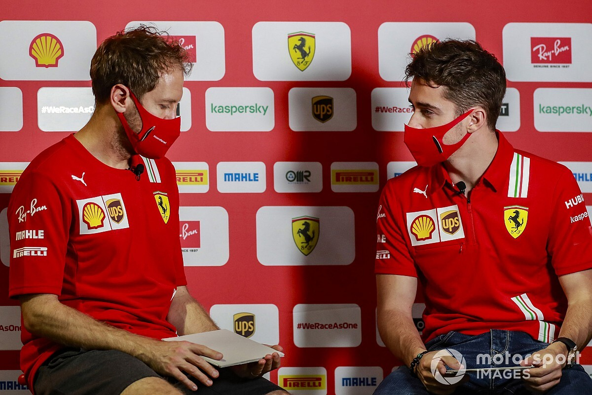 Leclerc explains what he realized from Vettel as F1 team-mates - Motor Informed