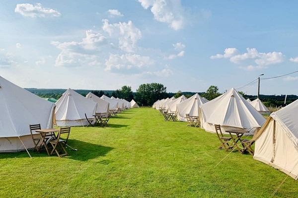 Belgian GP camping