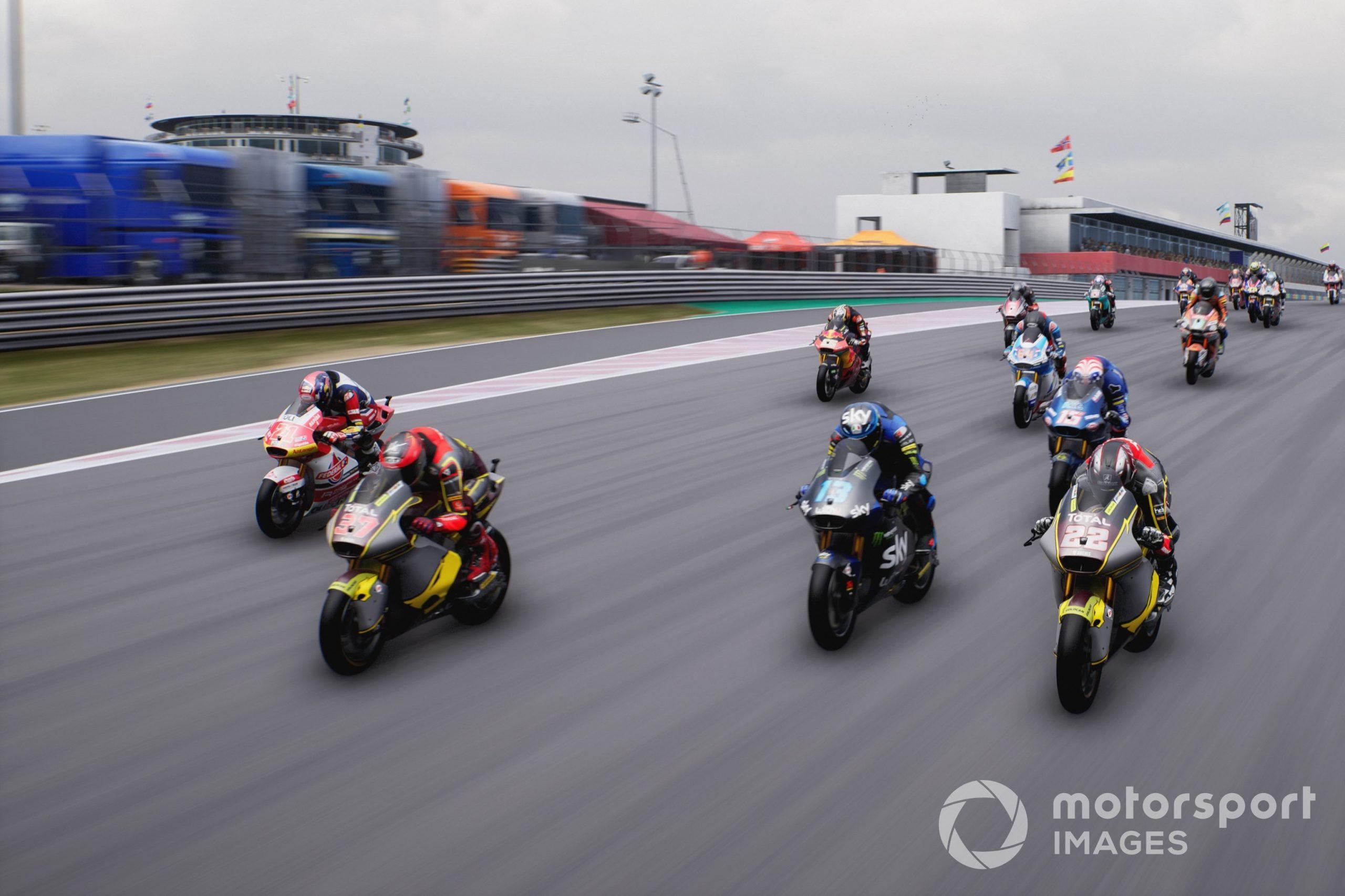 Moto2 at the Algarve International Circuit, MotoGP 21