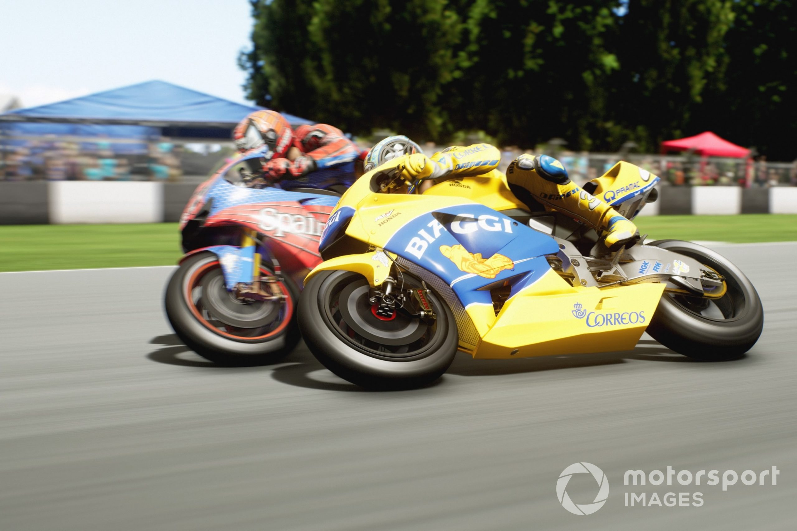 Classic Max Biaggi in MotoGP21