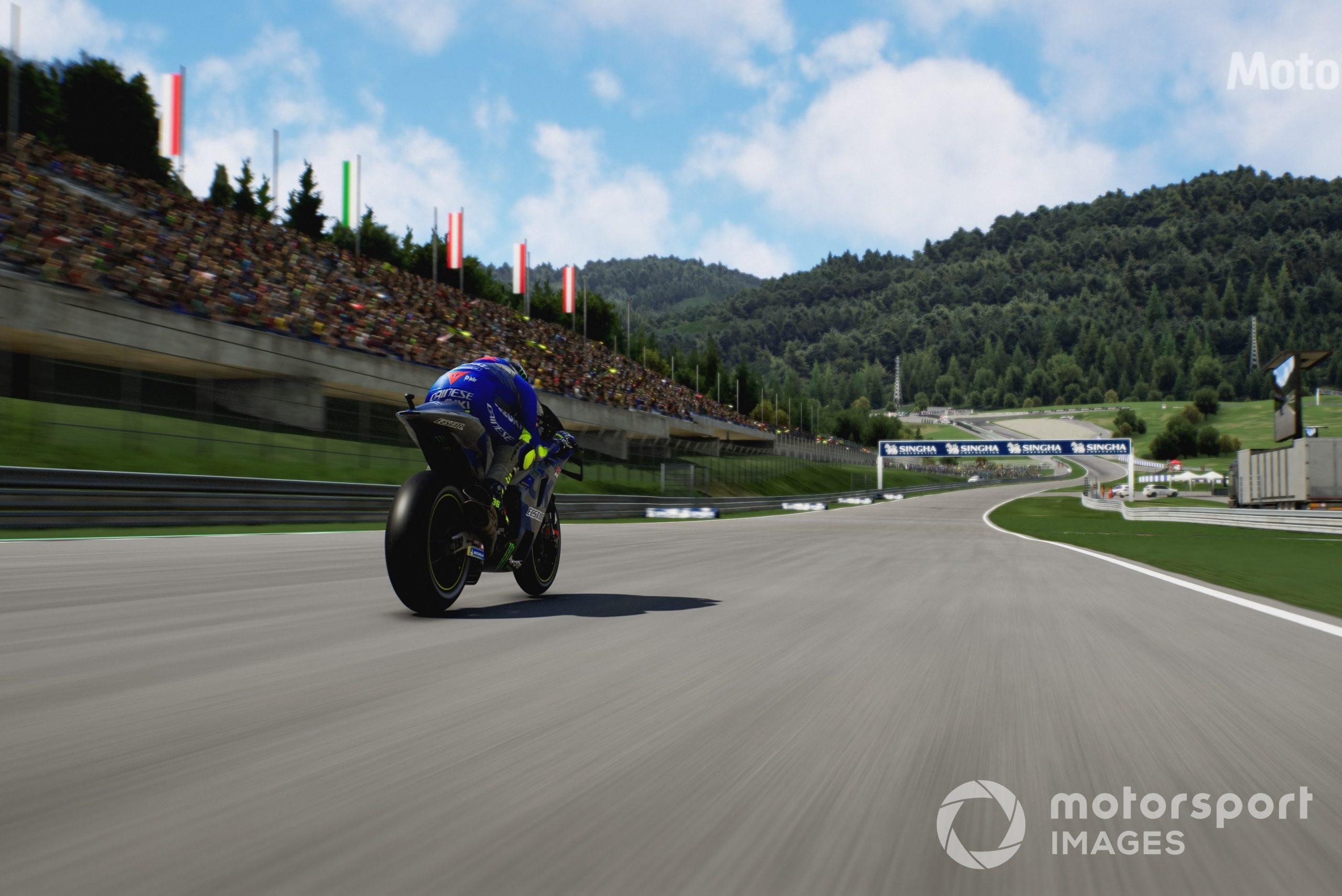 Red Bull Ring in MotoGP 21