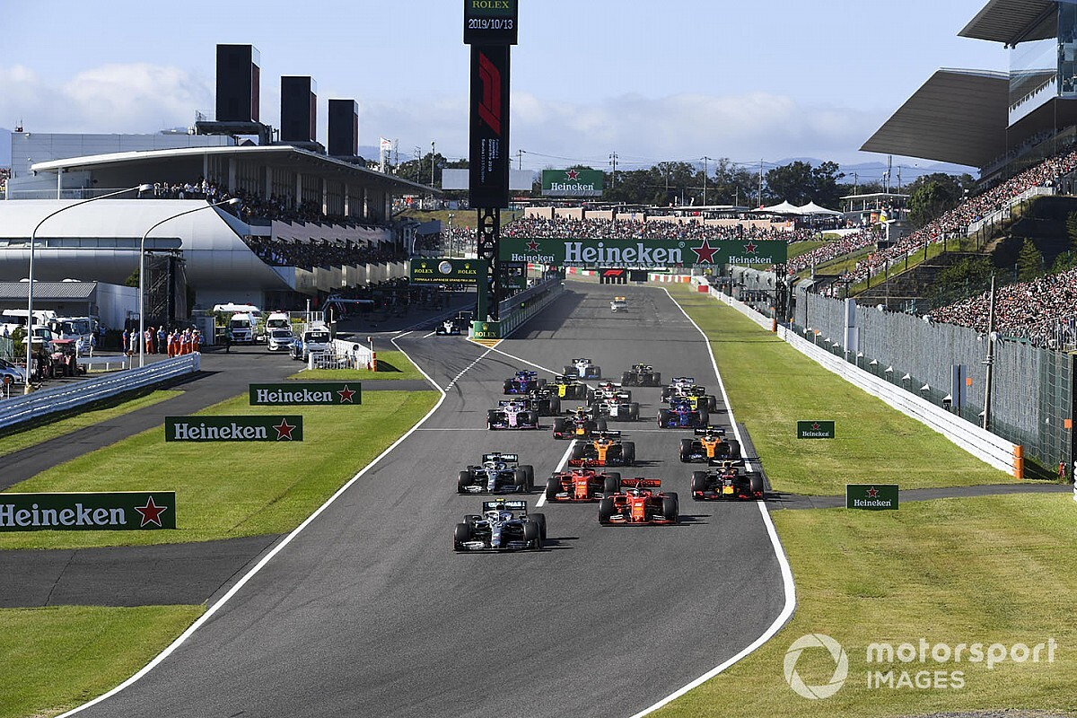 F1 broadcasts three-year contract extension for Japanese GP at Suzuka - Motor Informed