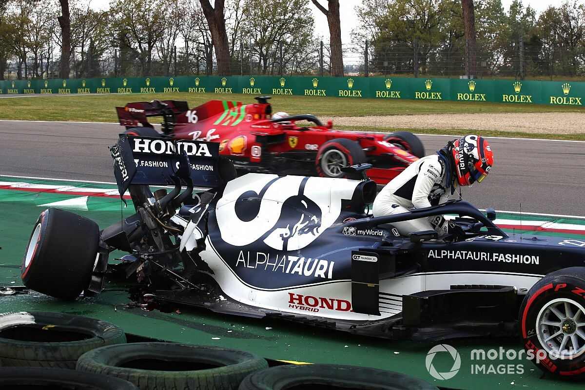 Tsunoda's Imola F1 qualifying crash 'a part of the rookie journey' - Motor Informed