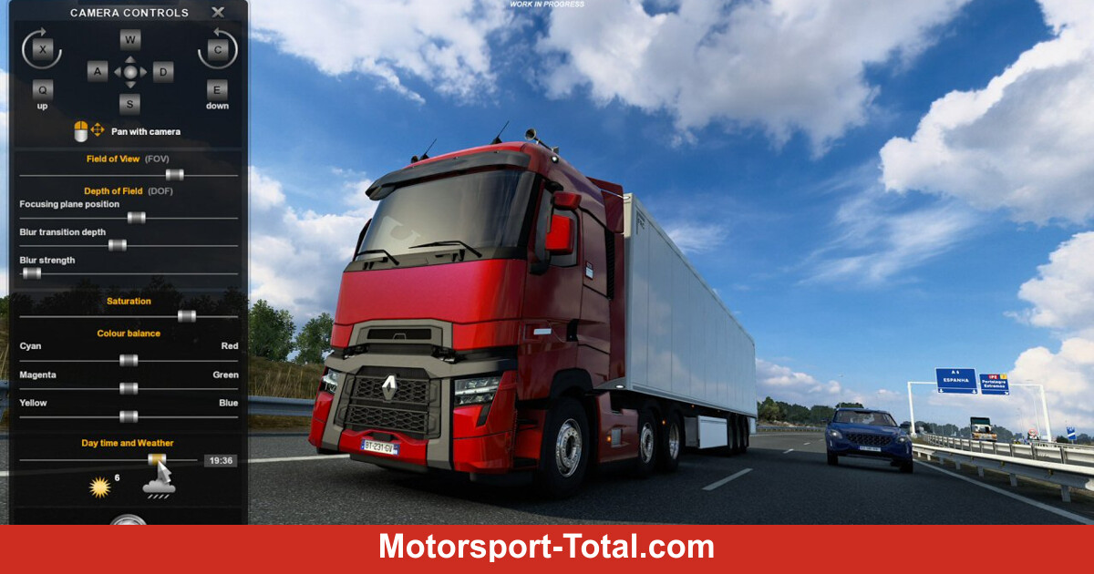 Euro Truck Simulator 2 and American Truck Simulator: Photo mode gets a new function - Motor Informed