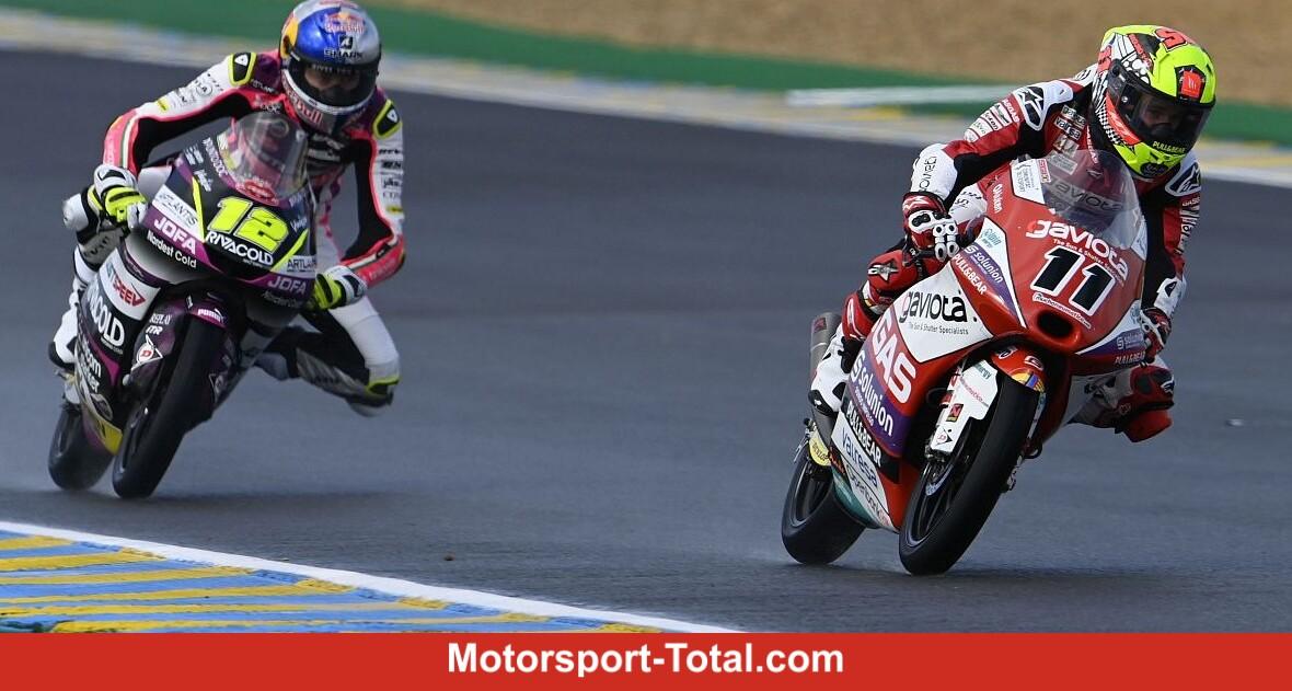 Moto3 races in Le Mans: Garcia wins confidently - Motor Informed