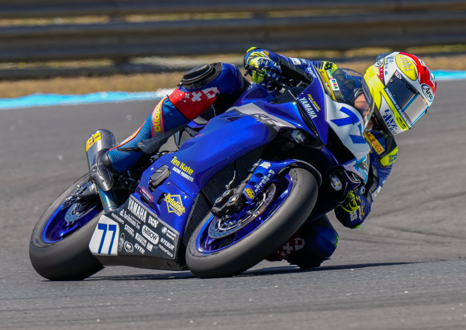 Aegerter takes the highlight, third Caricasulo - Motor Informed