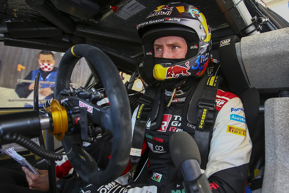 Evans with a brief head, Toyota in nice form - Motor Informed