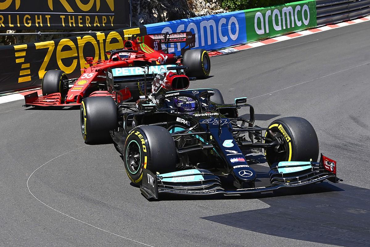 "Hamilton shocked by ""actually robust"" Ferraris in Monaco - Motor Informed"