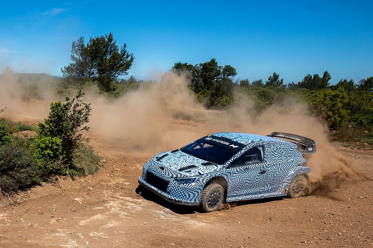 Hyundai checks its 2022 WRC within the south of France - Motor Informed