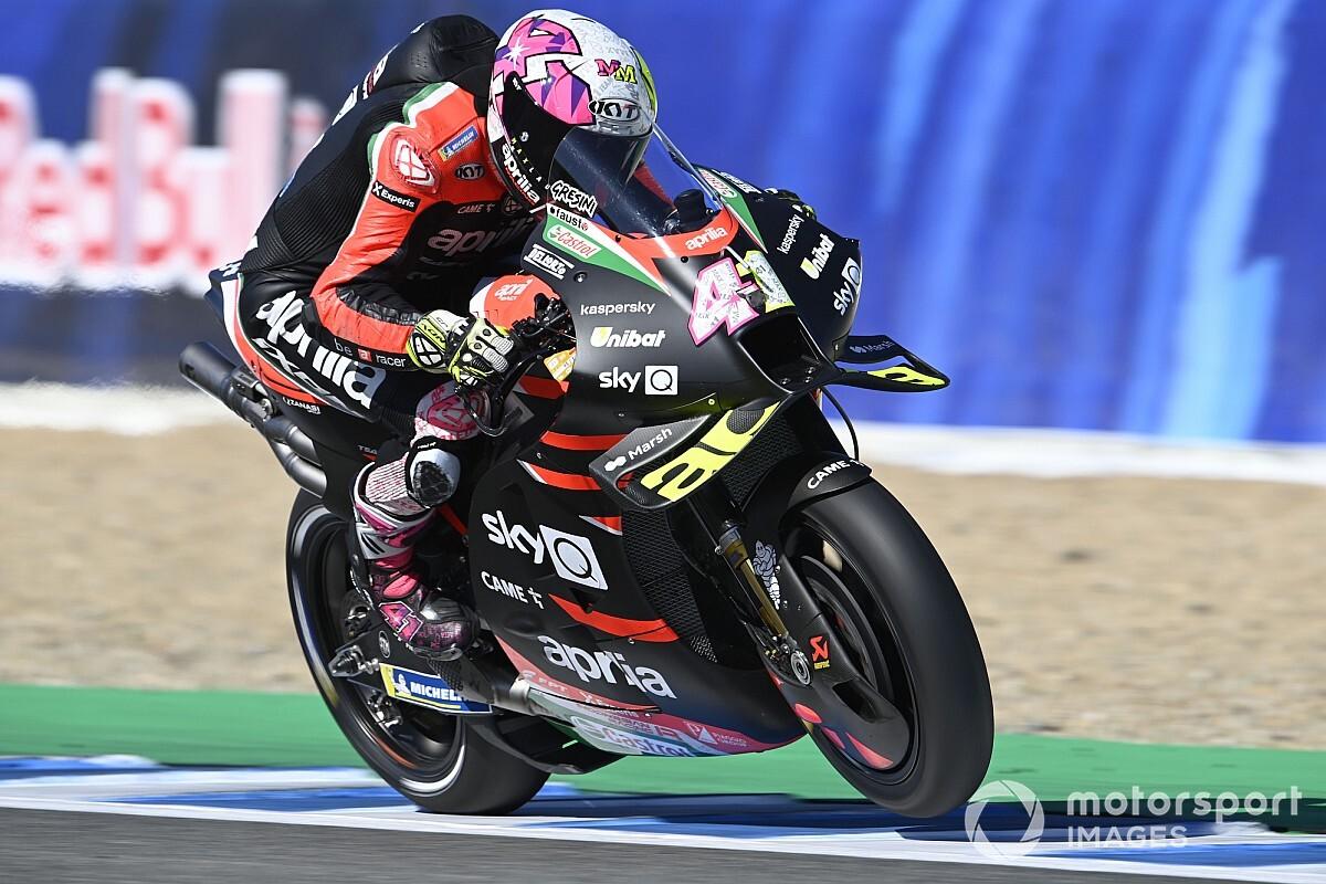 "Gresini turning into Aprilia MotoGP satellite tv for pc can be ""romantic"" - Motor Informed"