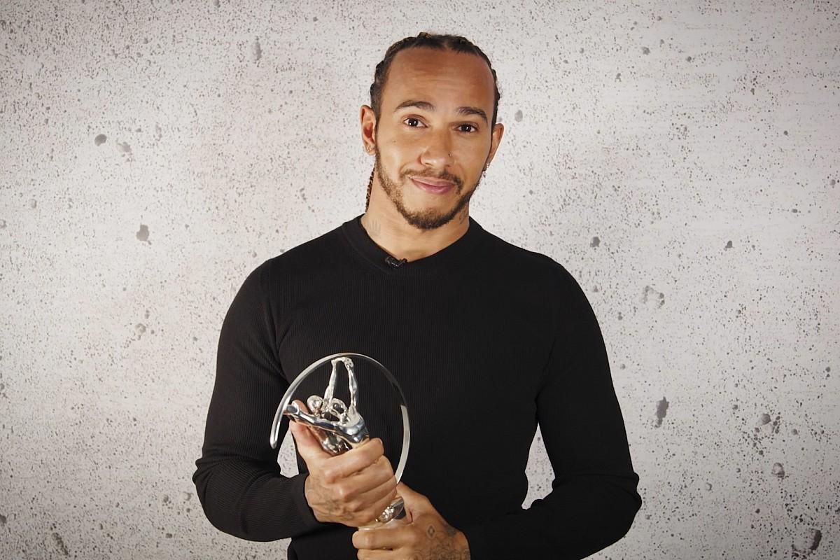 Hamilton wins third Laureus Award for social activism - Motor Informed
