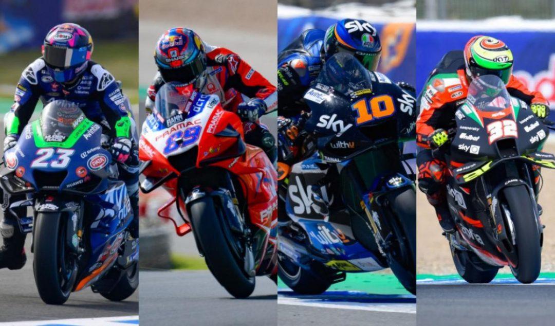 Bastianini, Martin, Marini and Savadori after four GPs - Motor Informed