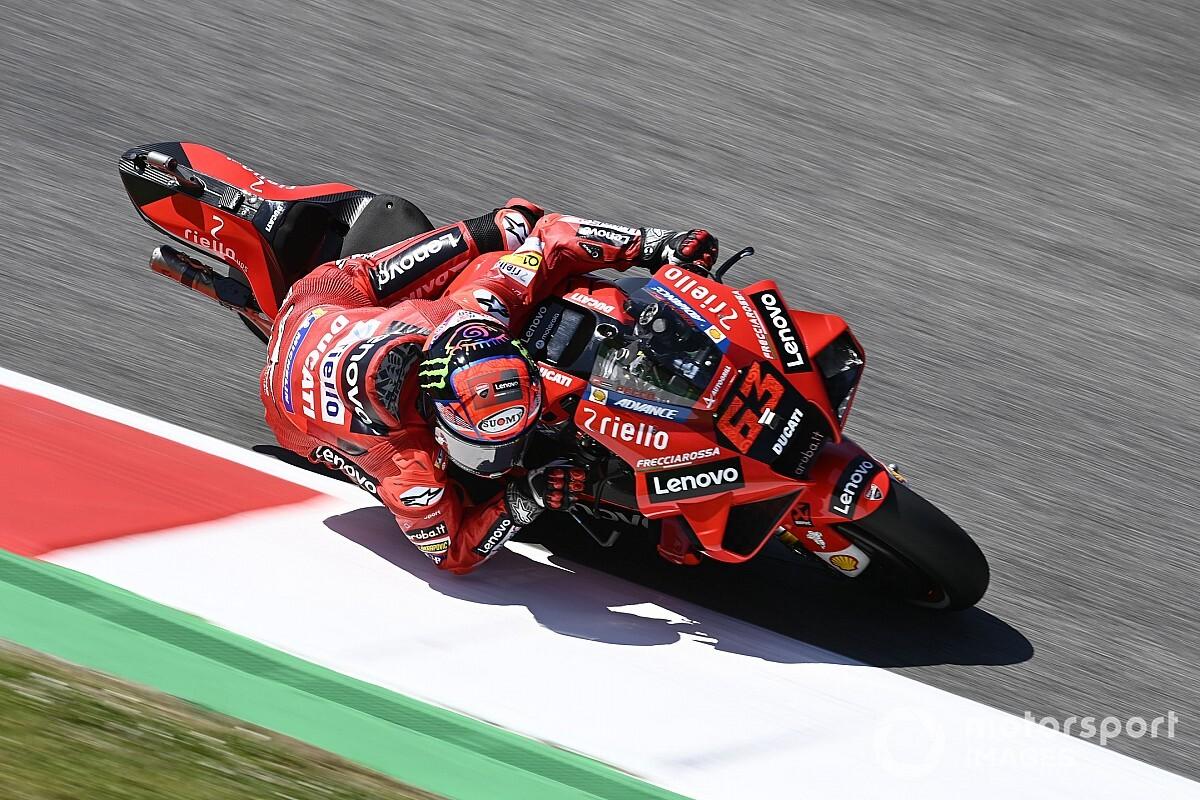 Italian MotoGP: Bagnaia quickest from Rins in FP2 at Mugello - Motor Informed