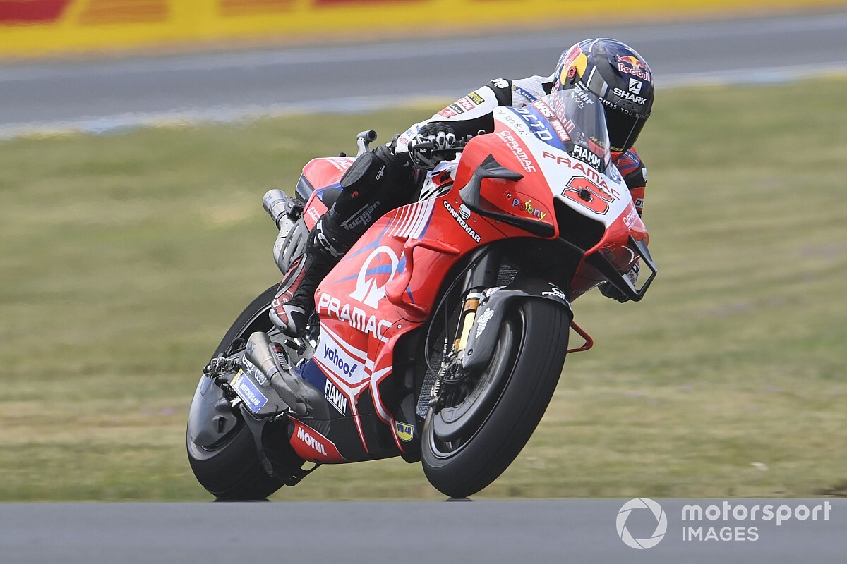 """Zarco: Pramac/Ducati MotoGP relationship can't be """"destroyed"""" by a VR46 tie-up - Motor Informed"""