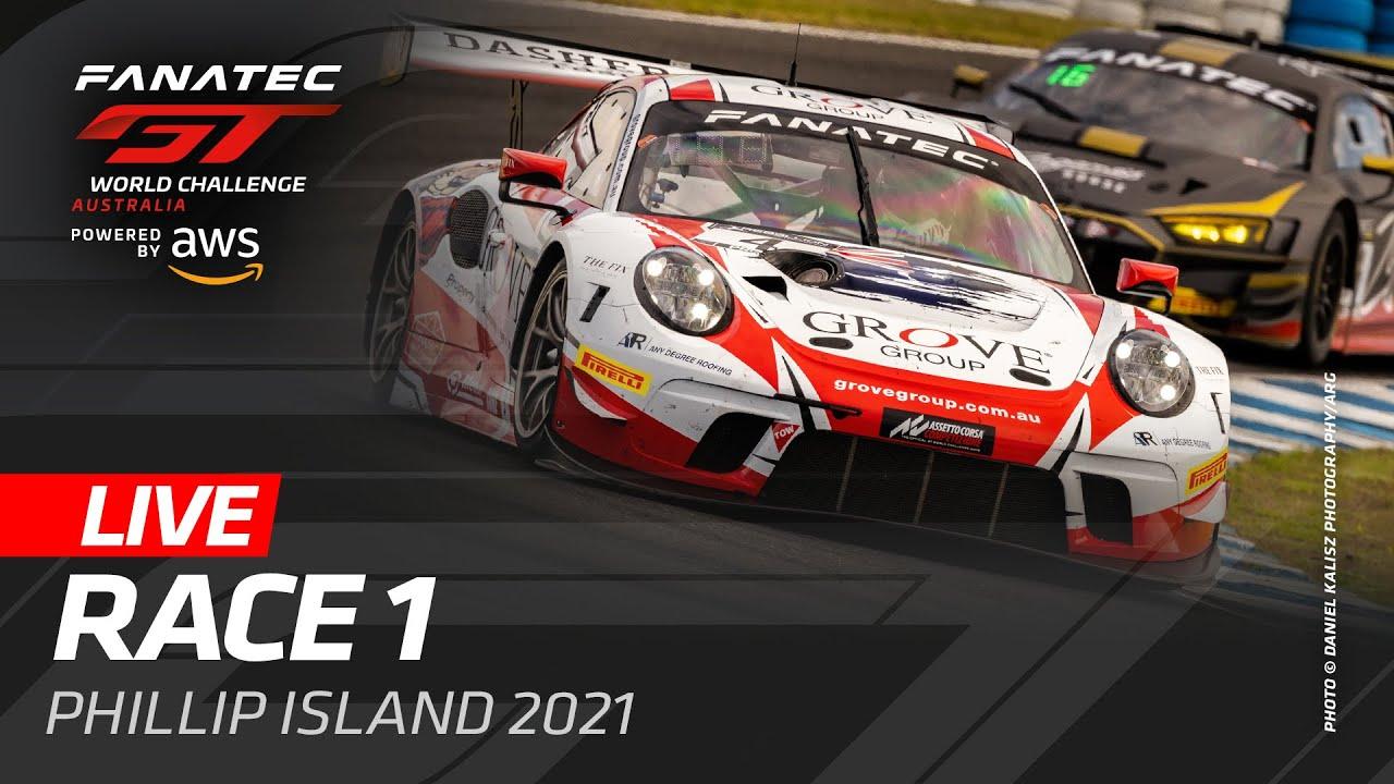 LIVE PHILLIP ISLAND AUSTRALIA - RACE 1 - FANATEC GT WORLD CHALLENGE AUSTRALIA 2021 - Motor Informed