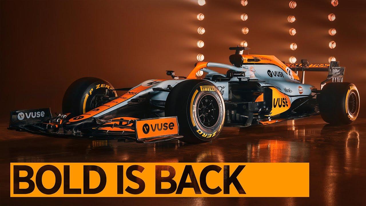 Bold is Back | Monaco GP Livery Reveal | #GulfXMcLaren - Motor Informed