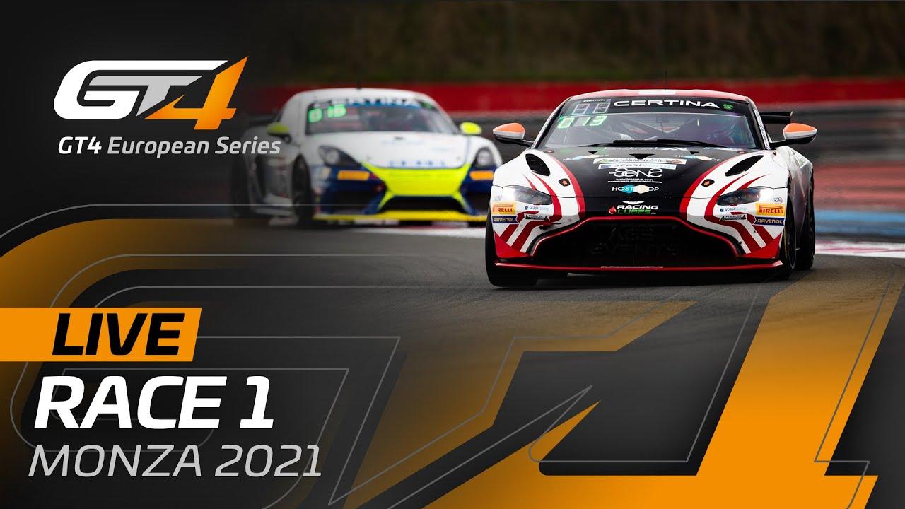 LIVE FROM MONZA - RACE 1 - GT4 EUROPEAN SERIES 2021 - Motor Informed
