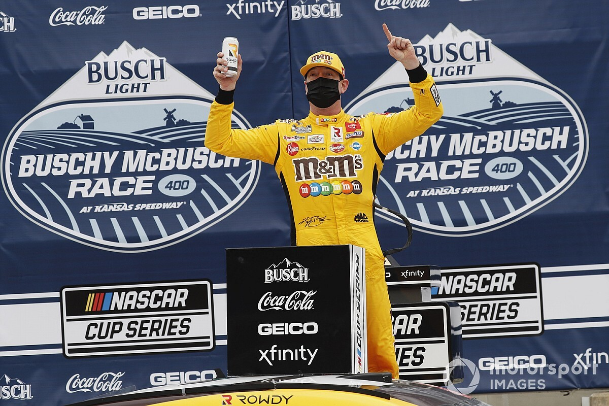 NASCAR Kansas: Kyle Busch takes first Cup win of 2021 - Motor Informed