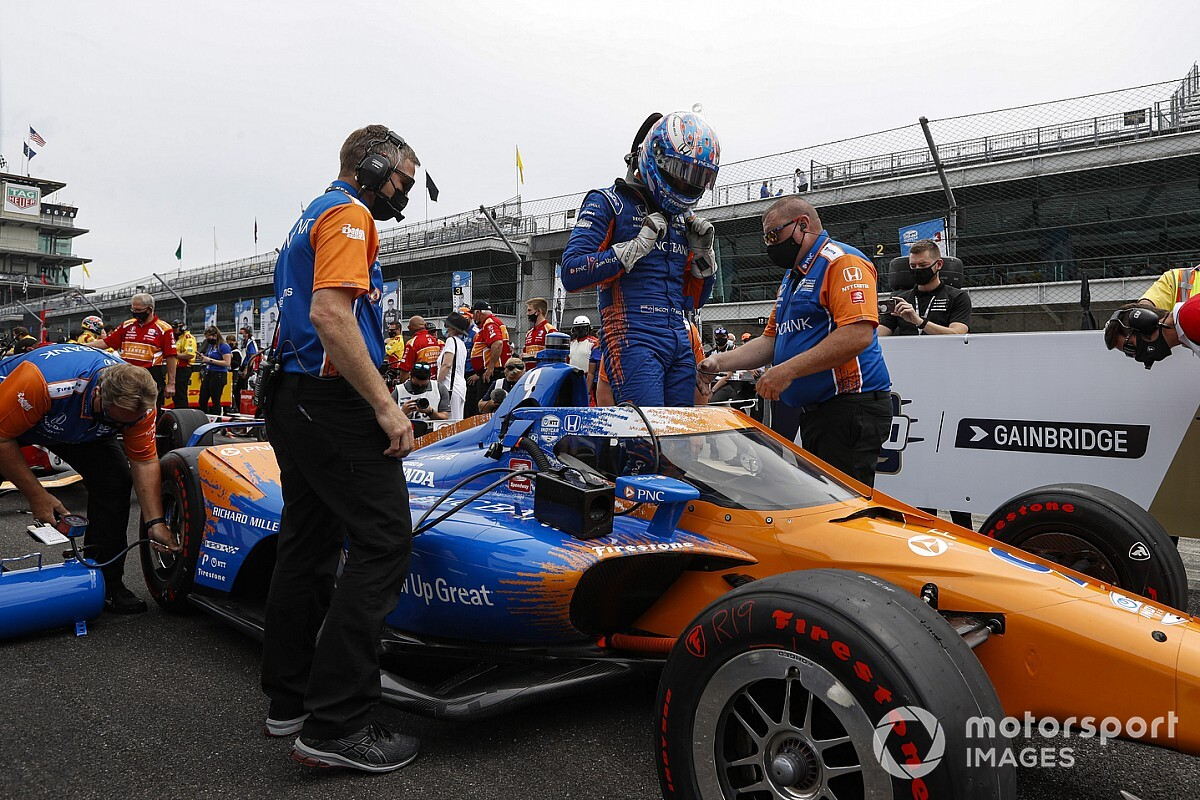 """Dixon didn't need to know trim stage earlier than """"bushy"""" Indy 500 pole run - Motor Informed"""