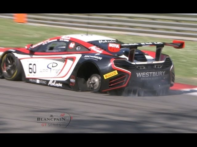 Blancpain Sprint Series - Cars, Crashes and Spins - Motor Informed