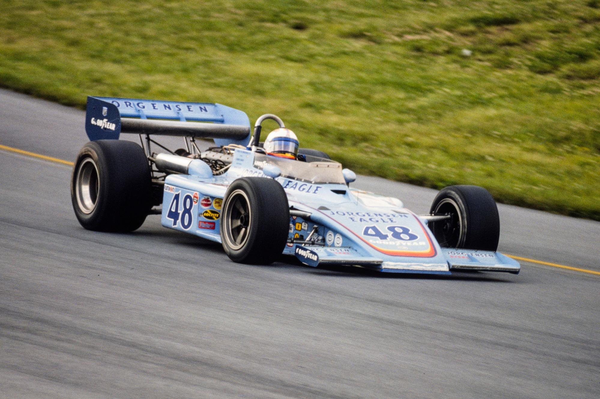 Bobby Unser 1975 USAC Pocono