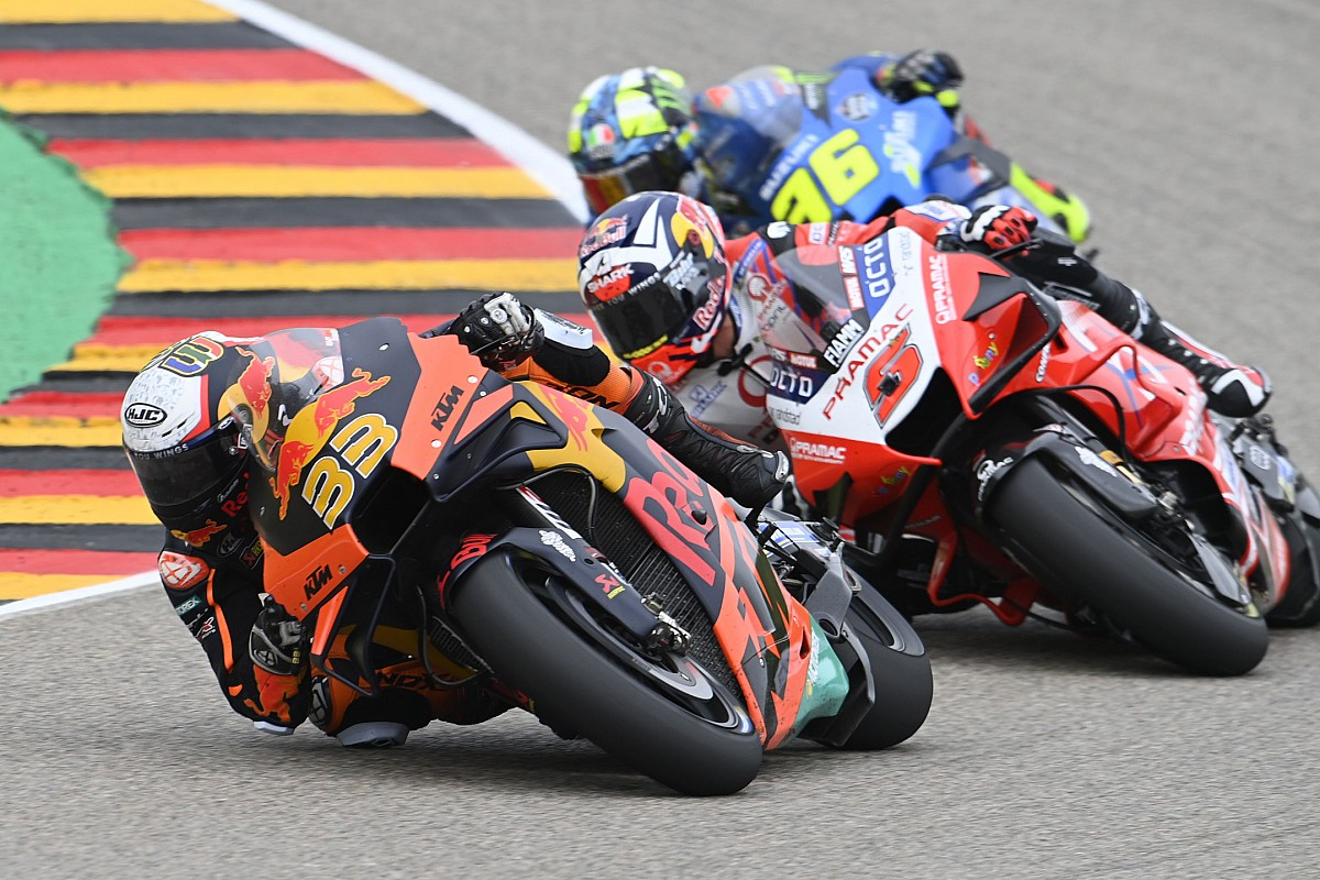 Brad Binder jumped 9 locations within the race - Motor Informed