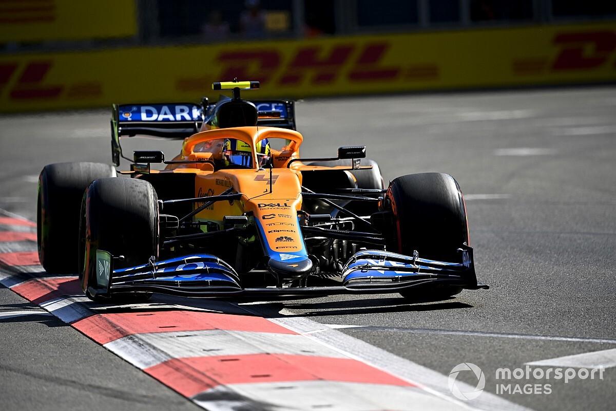 Lando Norris penalized on the grid in Baku - Motor Informed