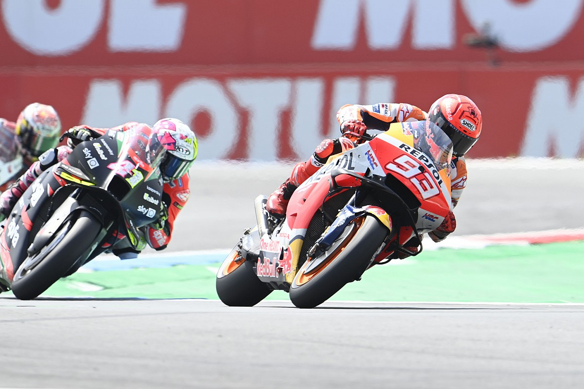 """Marc Marquez """"impressed"""" and """"proud"""" of his comeback - Motor Informed"""